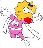 Dans quel épisode peut-on voir la petite benjamine de la famille devenir Super Maggie ?