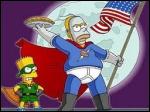 Homer a pris l'identité d'un super héros aux attaques patissières redoutables. Quel surnom Homer a-t-il choisi pour son personnage de 'vengeur masqué ' ?