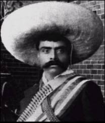 Symbole fort de la révolution mexicaine où, en 1911, il lança une grande insurrection paysanne dans le sud du Mexique.