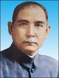 Fondateur du Guomindang, président de la République de 1921 à 1925, il fut le premier homme d'État moderne de la Chine.