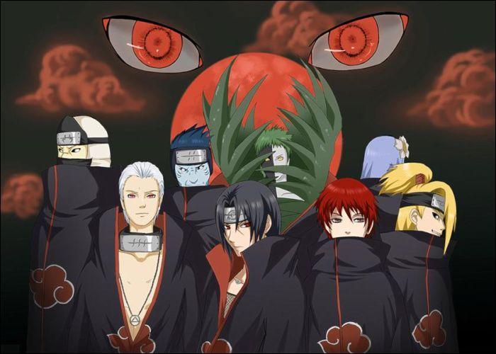 Qui sont ces huit personnages de l'Akatsuki ?