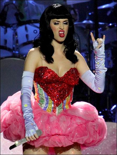 Catégorie caprices de stars, Katy Perry est très simple :