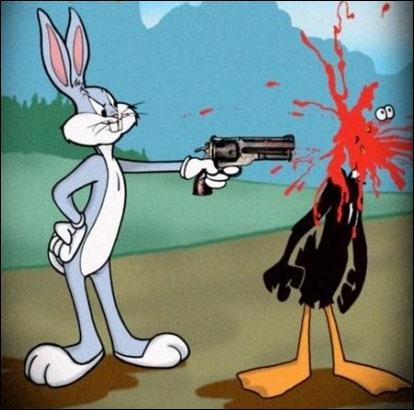 Bunny Bunny Noooon ! rien que pour être dans mon quizz, il vient d'exécuter...