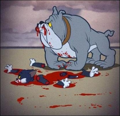 Mince ! Il venait juste d'en finir avec cette sale souris !