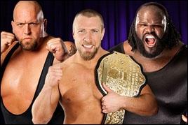 Big Show vs Daniel Bryan vs Mark Henry : qui est le vainqueur pour le championnat du monde poids lourds ? (Steel Cage Match)
