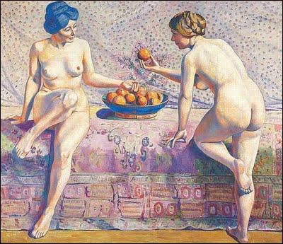 Qui a peint 'Femmes aux oranges' ?