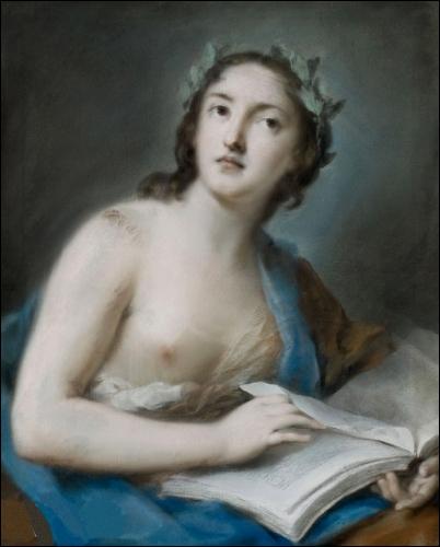 Qui a peint 'Allégorie à la poésie' ?