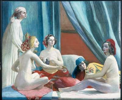 Qui a peint 'Les Odalisques' ?