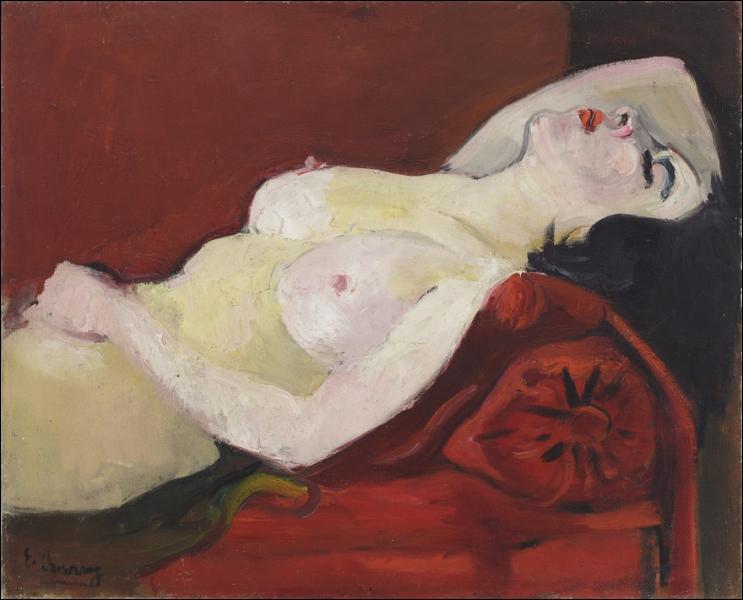Qui a peint 'Nu endormi' ?