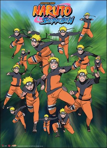 Par quelle citation Naruto invoque-t-il ses clones ?