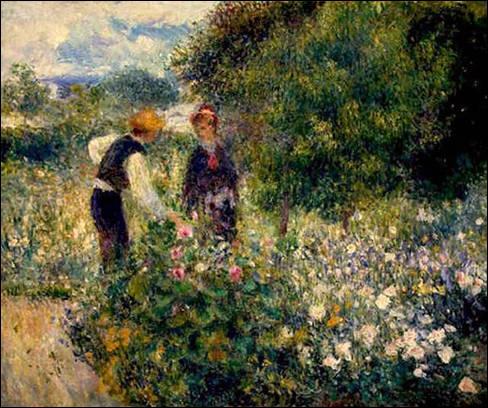 La cueillette des fleurs