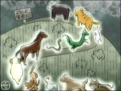 Question bonus : Quel animal ne fait pas partie des douze ?