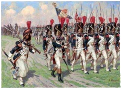 Quel est le surnom de la garde de Napoléon ?