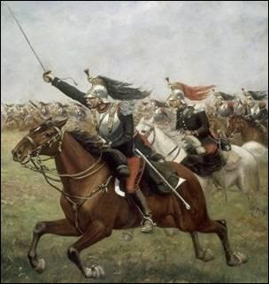Pourquoi le maréchal Ney fait charger la cavalerie sur les anglais ?