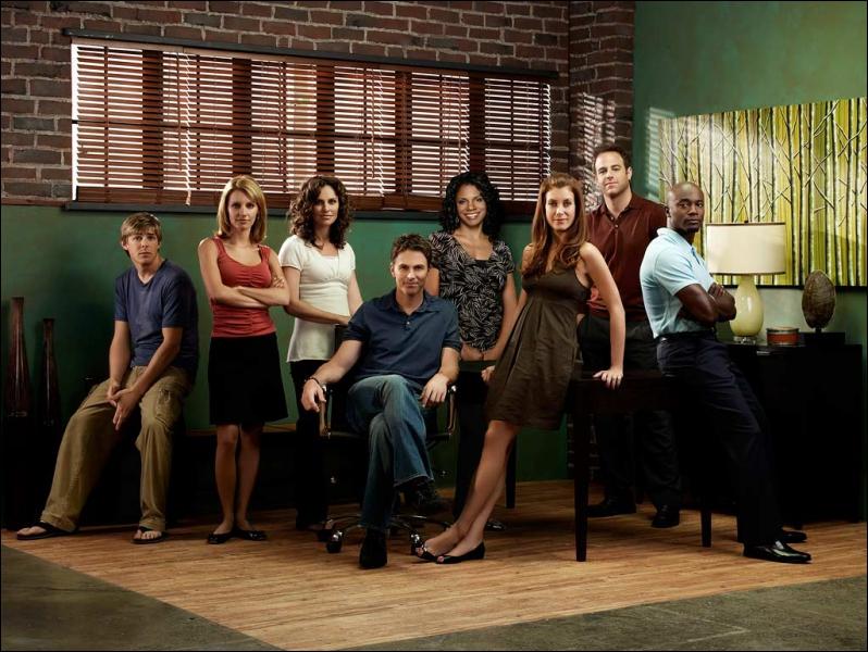 Quel est le nom de cette série télévisée américaine ?