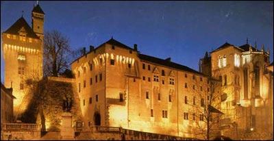 Château des ducs de Savoie où peut-on l'apercevoir ?