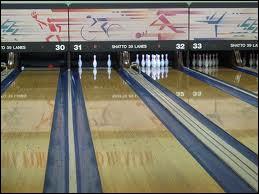 Sport individuel : comment s'appelle cette configuration au bowling ? (piste 31)