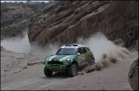 Géographie : où s'est déroulée l'édition 2012 du rallye Paris-Dakar ?