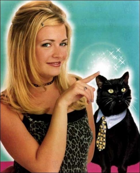 On pourrait dire que le chat Salem est au moins aussi important qu'elle, mais c'est quand même l'actrice Melissa Joan Hart qui porte la série sur ses épaules, série titrée ?