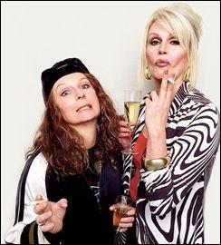 Ces deux femmes sont des copines de bringue et de travail (surtout de bringue ! Elles sont hilarantes dans la série britannique Abolutely fabulous, dans laquelle elles se nomment. .