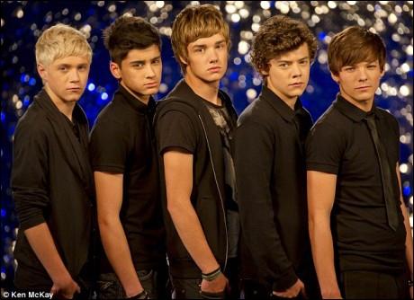 Où le groupe One Direction a-t-il été découvert ?