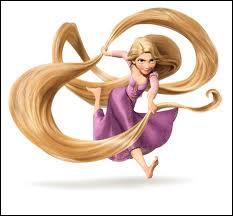 Comment s'appelle cette princesse qui a des cheveux très longs qui ont la vertu de faire rajeunir toutes les personnes qui chantent une mélodie en les touchant ?