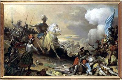Dans quelle ville d'Italie François 1er vient-il à bout de l'armée Suisse et se fait sacré chevalier à l'issue de la bataille
