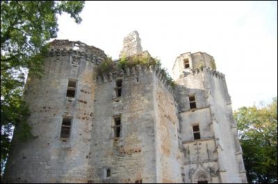 Comment se nomme le château des Nansac ?