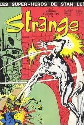 Les couvertures de Strange