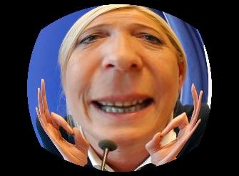 Quelle est cette candidate, chef de file du FN née en 1968 ?