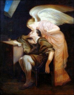 Qui a peint Le baiser de la muse ?