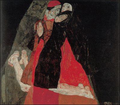 Qui a peint Cardinal et religieuse ?
