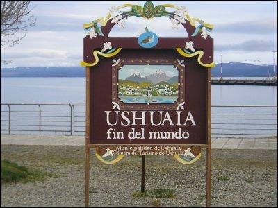 La ville d'Ushuaia est souvent surnommée 'la fin du monde' car elle est la ville la plus australe au monde. Où se situe-t-elle ?