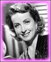 Actrice qui s'est révélé dans les rôles de jeunes filles romantiques dès les années 30 :