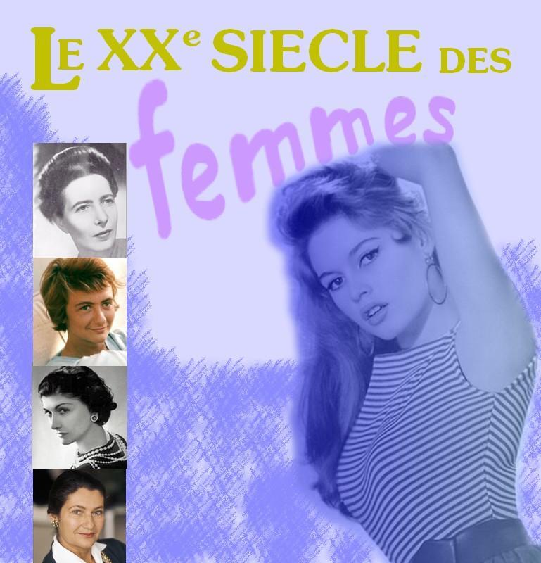 Femmes françaises du XXième siècle