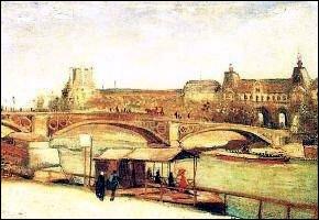 Pont du carrousel et le Louvre