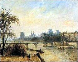 Le Louvre, matin de pluie