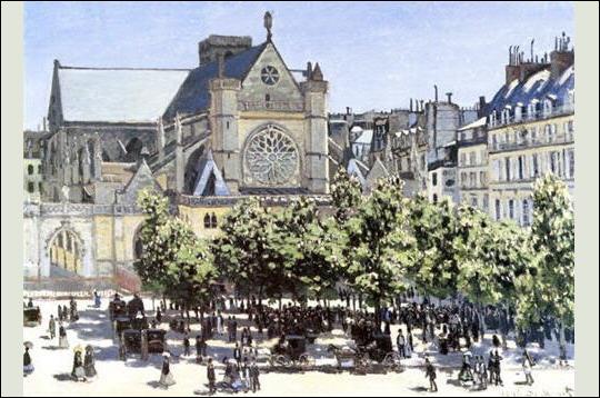 L'église Saint-Germain-l'Auxerrois