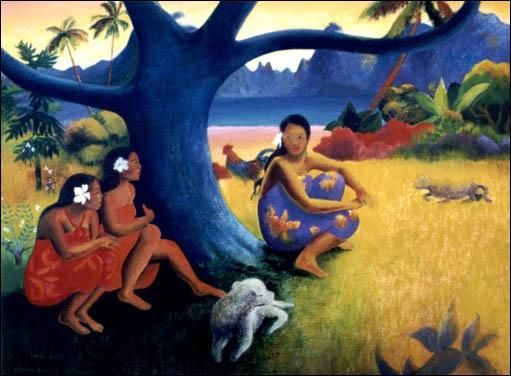 Gauguin est l'un de mes préférés, je l'ai pris en exemple pour vous présenter ...