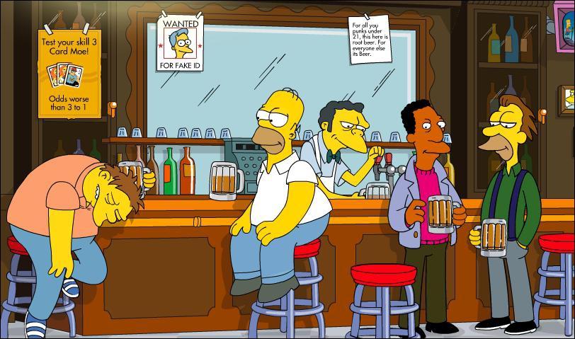 Qui n'a jamais mis les pieds dans ce bar ?