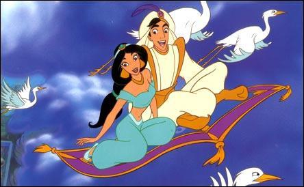 Quelle chanson Aladin et Jasmine chantent-ils sur le tapis volant ?