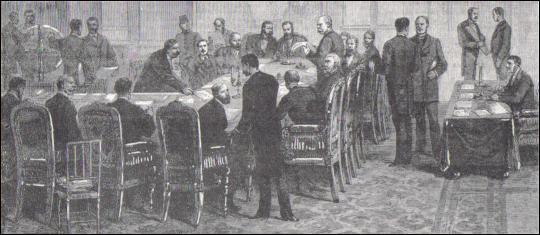 Quelle grande conférence organise le partage colonial de l'Afrique ?