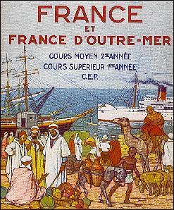 Quel territoire conquis en 1830 est colonie de peuplement pour la France ?
