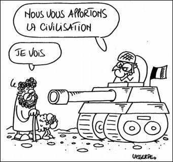 Quel courant politique manifestera toujours de l'hostilité à la colonisation en France ?