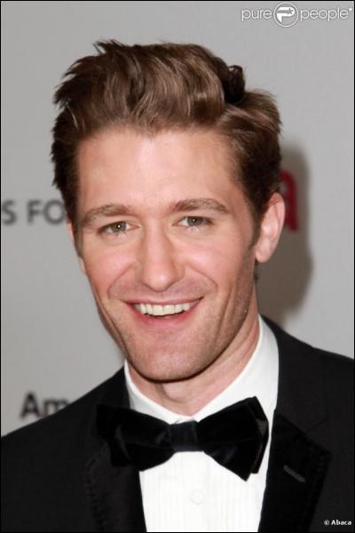 Quel est le nom de cet acteur (Mr. Schuester) ?