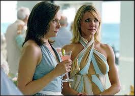 La blonde Cameron Diaz, ici avec Toni Collette, dans un film mêlant drame et comédie, qui est ?