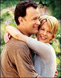 Encore Meg Ryan, ici avec Tom Hanks, qui s'aiment dans le film ?