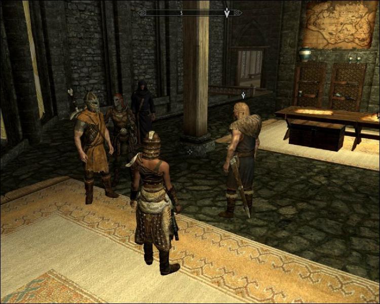 Quelle est la phrase fétiche des gardes des neuf châtelleries ?