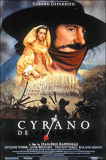 Retour au répertoire classique en 1990 avec le film : Cyrano de ... ...