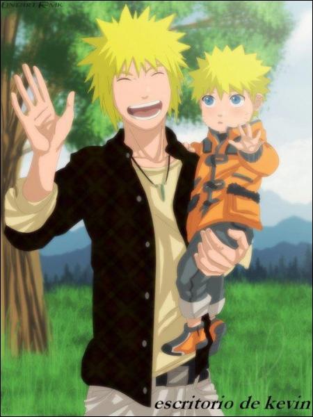 De qui Naruto est-il le fils ?